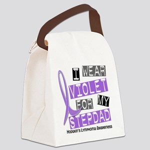 D I Wear Violet Stepdad 37 Hodgki Canvas Lunch Bag